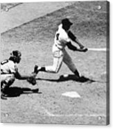 Willie Mays (1931- ) Acrylic Print