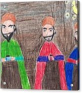 3 Wise Men Acrylic Print