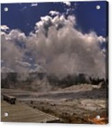 Yellowstone Sky Acrylic Print