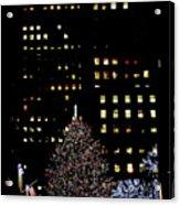 30 Rock, Christmas Eve, 2011 Acrylic Print