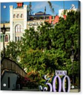 300 Years Of New Orleans Acrylic Print