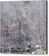 3003-snowscape Acrylic Print