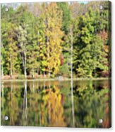 3007-fall Waterscape Acrylic Print