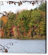 3008-fall Waterscape Acrylic Print