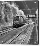 301 Ice Train Acrylic Print