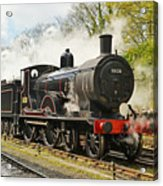 Steam Train At Rest. Acrylic Print