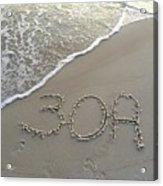 30a Beach Acrylic Print
