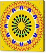 Mandala Ornament Acrylic Print