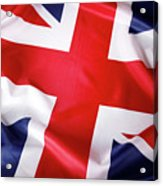 British Flag 7 Acrylic Print