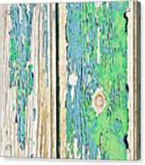 Weathered Wood Acrylic Print