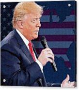 Donald Trump Acrylic Print