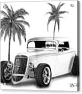 33 Ford Coupe Acrylic Print