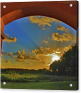 33- Window To Paradise Acrylic Print