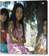 Cuidad Juarez Mexico Color From 1986-1995 Acrylic Print