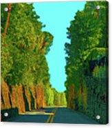 34- Enchanted Highway Acrylic Print