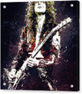 Jimmy Page. Led Zeppelin. Acrylic Print