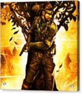 Metal Gear Acrylic Print