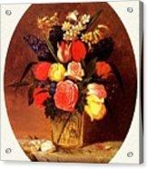 bs-flo- James Henry Wright- Flower Still Life James Henry Wright Acrylic Print