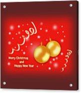 Christmas Acrylic Print