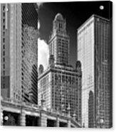 35 East Wacker Chicago - Jewelers Building Acrylic Print