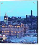 Edinburgh, Scotland Acrylic Print