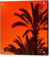 Sunrise And Sunset Acrylic Print