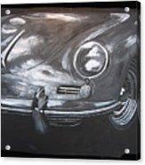 356 Porsche Front Acrylic Print
