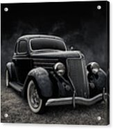 36 Ford Five Window Acrylic Print
