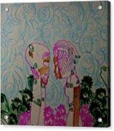 Kintu And Nambi  Folktale Acrylic Print