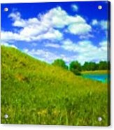 Pictures Of Oil Paintings Landscape Acrylic Print