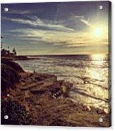 Sunset On La Jolla Beach, California, Usa  Acrylic Print