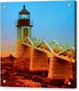 3600001  Maine Lighthouse Acrylic Print