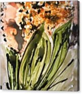 Divine Blooms Acrylic Print