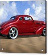 37 Chevy Coupe Acrylic Print