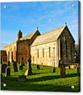 Lindisfarne Priory Acrylic Print