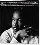 39- Martin Luther King Jr. Acrylic Print by Joseph Keane