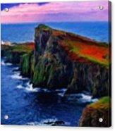 Original Landscape Paintings Acrylic Print