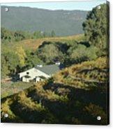 3b6348 Benzinger Family Winery Acrylic Print