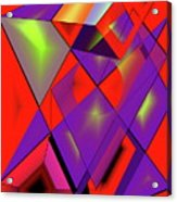 3d-cubes Acrylic Print