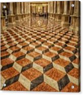 3d Floor Art Acrylic Print
