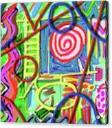 3d Jazz Acrylic Print