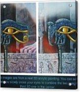 3 Dimensional Painting Acrylic Print