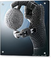 3d Printing Additive Robotic Hand Acrylic Print