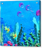 3d Under The Sea Acrylic Print by Ruth Collis