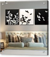 3d Wall Decor Painting Y1921a Acrylic Print