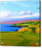 3rd Across The Bay At Mauna Kea Acrylic Print