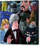 3rd Dr Who And Friends Acrylic Print