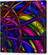 3x1 Abstract 912 Acrylic Print