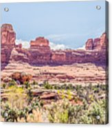 Views Of Canyonlands National Park Acrylic Print