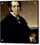 1820- Vasily Tropinin Acrylic Print